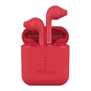 Sluchawki bezprzewodowe defunc go czerwone