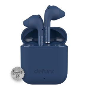 Sluchawki bezprzewodowe defunc go slim niebieskie 01