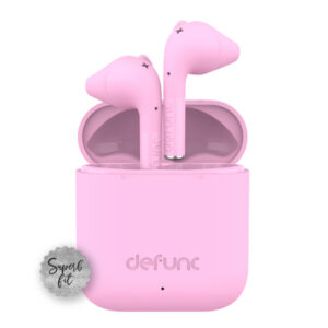 Sluchawki bezprzewodowe defunc go slim rozowe 02