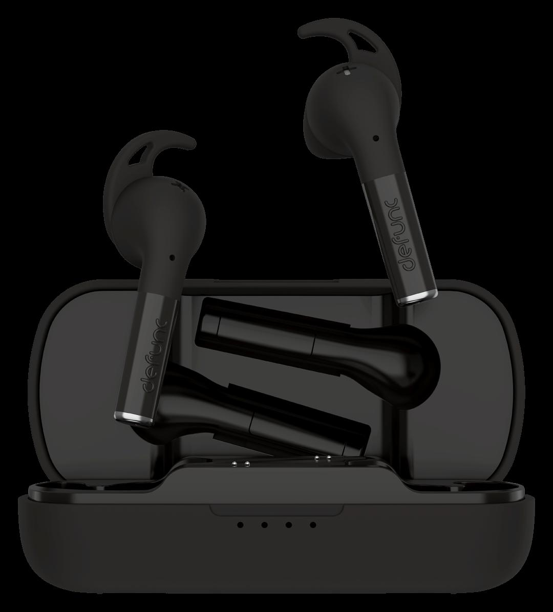 słuchawki bezprzewodowe defunc true plus czarne