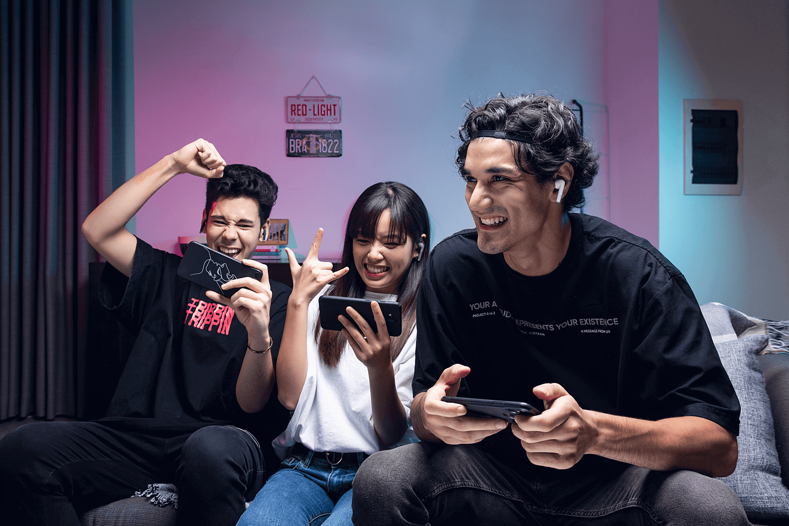 Sluchawki gamingowe BEZPRZEWODOWE Defunc (3)