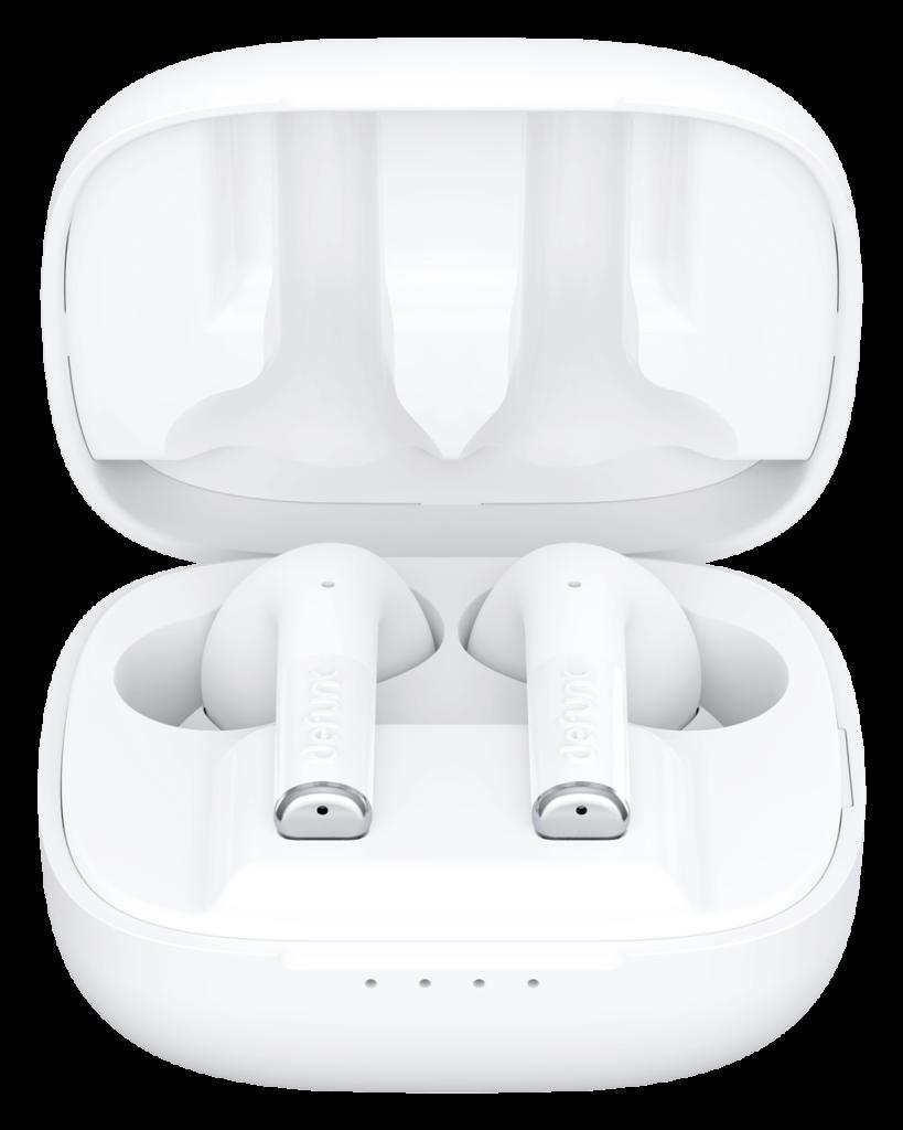 Słuchawki gamingowe bezprzewodowe defunc gaming białe